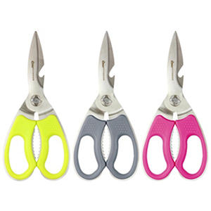 "Clauss 8.5"" Titanium-Bonded Chef's Shears, Set of 3"