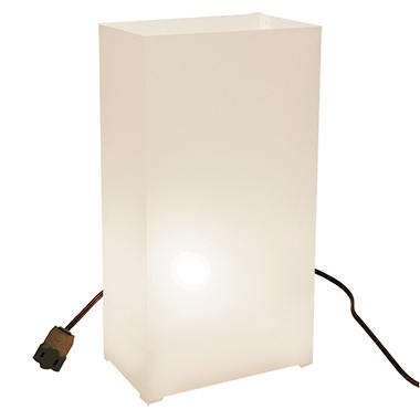 10-Count Electric Luminaria Kit - White