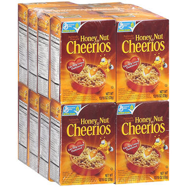 General Mills Honey Nut Cheerios® - 16 pk.