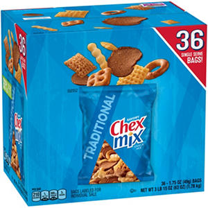 Chex Mix Traditional Savory Snack Mix (36 ct.)