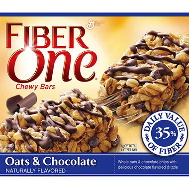 Fiber One Oats & Chocolate  (1.4 oz., 20 pk.)