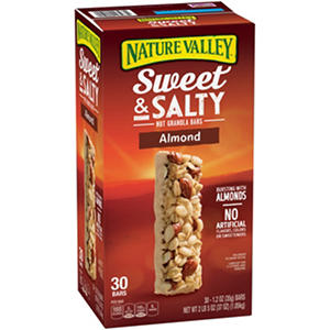 Nature Valley Almond Sweet & Salty Nut Granola Bars (1.2 oz., 30 pk.)