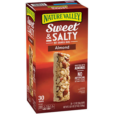 Nature Valley Sweet & Salty Almond Bar (30 ct., 1.2  oz. bars)