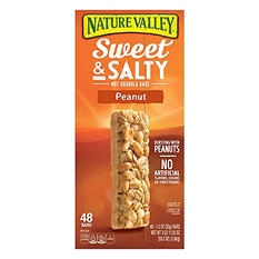 Nature Valley Sweet & Salty Peanut Bar (1.2 oz. bars, 48 ct.)