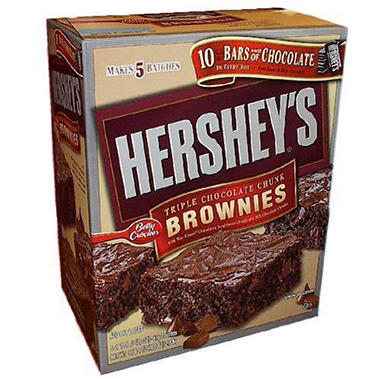 Hershey Brownies Mix - 5 pk.