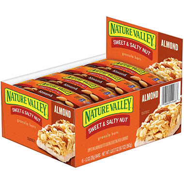Nature Valley Sweet & Salty Nut Almond Granola Bars - 16 ct. - 1.2 oz. bar