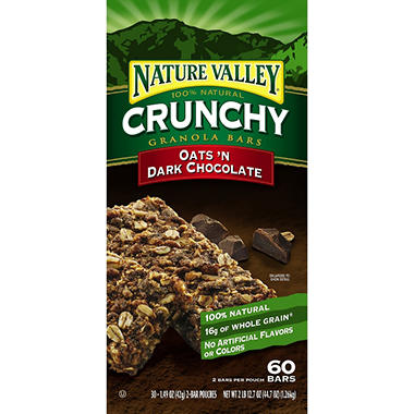 Nature Valley Crunchy Dark Chocolate - 30ct