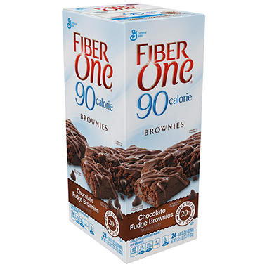 Fiber One 90 Calorie Chocolate Fudge Brownies (24 ct.)