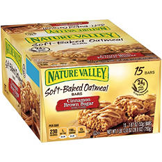 Nature Valley Cinnamon Brown Sugar Oatmeal Squares (1.87 oz., 15 ct.)