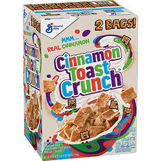 General Mills Cinnamon Toast Crunch Cereal (24.75 oz. bag,  2 ct.)