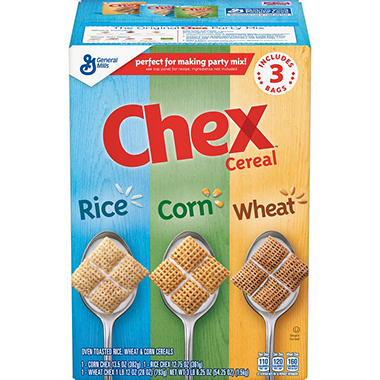 Triple Chex- Rice, Wheat, and Corn - Triple Pack