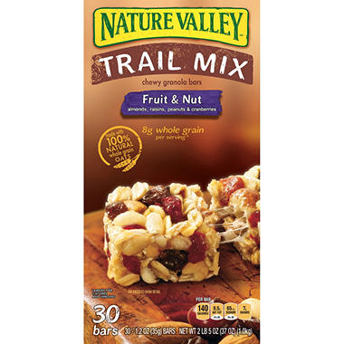 Nature Valley® Chewy Trail Mix Bars - 30 ct.