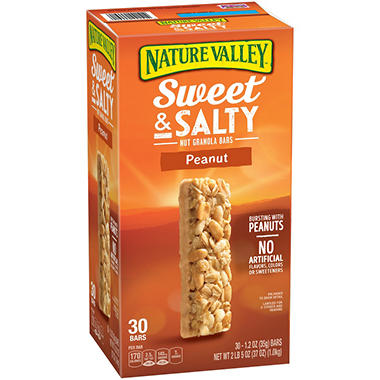 Nature Valley Peanut Sweet & Salty Nut Granola Bars (1.2 oz., 30 pk.)