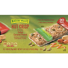 Nature Valley Nut Crisp Bars (20 ct.)