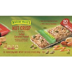 Nature Valley Nut Crisp Bars (20 ct.)