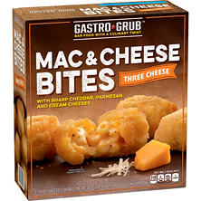 Gastro Grub Mac & Cheese Bites, Three Cheese (36 oz.)