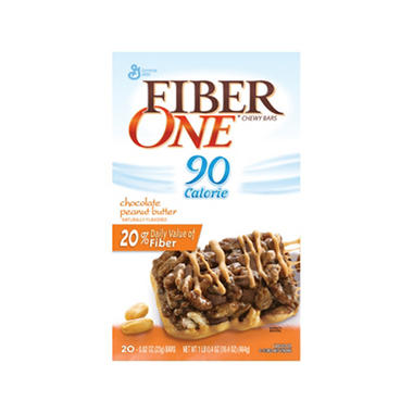 Fiber One® - Chocolate & Peanut Butter - 20 ct.