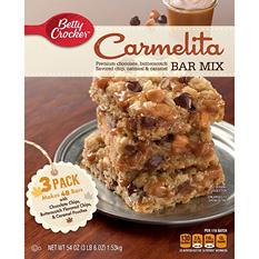 Betty Crocker Carmelita Bar Mix (54 oz., 3 pk.)