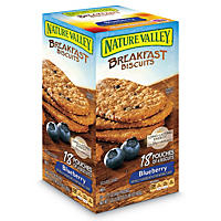 Nature Valley Breakfast Biscuits, Blueberry (18 ct.)