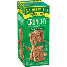 Nature Valley Oats 'n Honey Bars (2 bars per pk., 49 pk.)