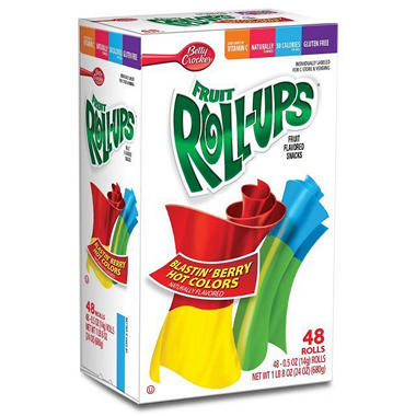 Fruit Roll-Ups - 48 rolls