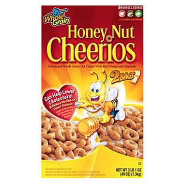 Honey Nut Cheerios® Twin Pack - 3 lb. 1 oz. box