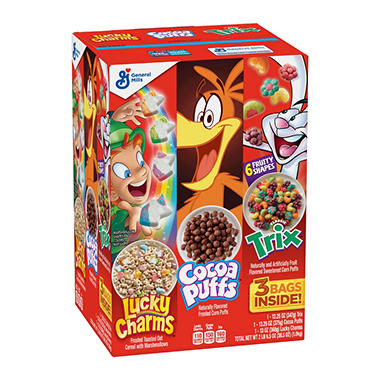 General Mills Triple Pack - 2 lb. 6.5 oz. box