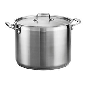 Tramontina Gourmet 18/10 Stainless Steel 16-Quart Covered Stock Pot