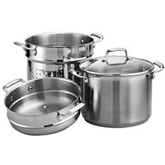 Tramontina Gourmet 4-Piece - 8-Quart Covered Multi-Cooker