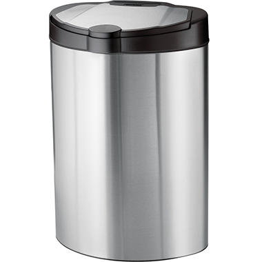 Tramontina Trash Can - Stainless Steel - 13 gal.