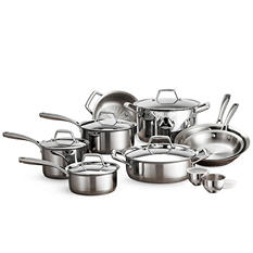 Tramontina 15-Piece Stainless Steel Cookware Set