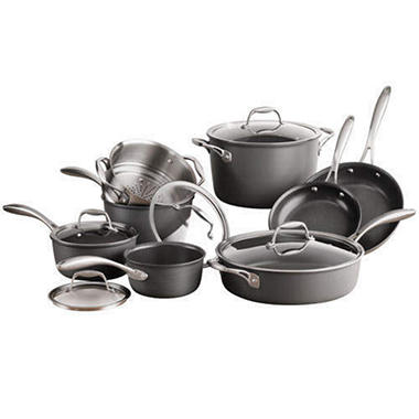 Member's Mark Hard Anodized Cookware Set - 13 pc.