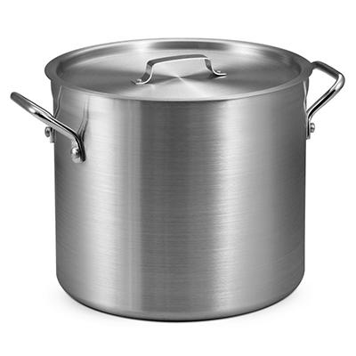 16 Qt. Aluminum Stock Pot with Lid