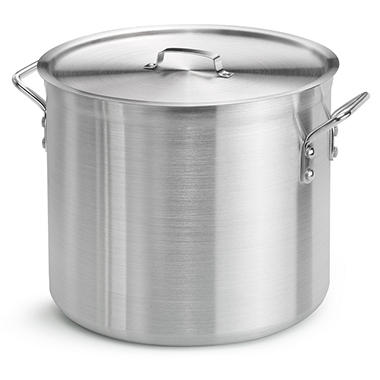 Daily Chef 24 Qt. Covered Aluminum Stock Pot