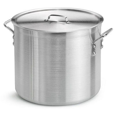 24 Qt. Aluminum Stock Pot with Lid