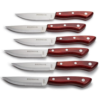 Tramontina Porterhouse Steak Knife Set - 6 pcs.