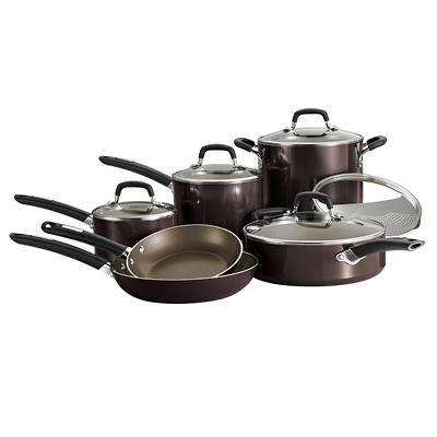 Daily Chef 11 pc. Cookware Set - Various Colors