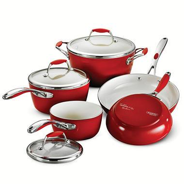 Tramontina Ceramica Deluxe 8-Piece Cookware Set