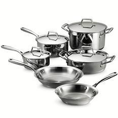 Tramontina Gourmet - Prima 10-Piece Tri-Ply Cookware Set