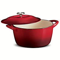 Tramontina Enameled Cast Iron 6.5 Qt Covered Round Dutch Oven