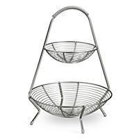 Tramontina Stainless-Steel Fruit Basket