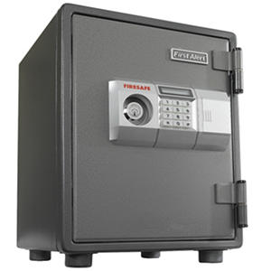 First Alert 2054DF 1 Hour Steel Fire Safe with Digital Lock, 0.80 Cubic Foot, Gray