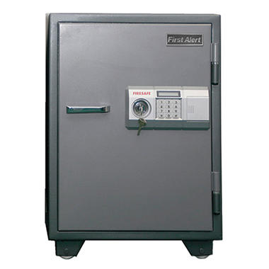 First Alert - 2575DF 2-Hour Steel Fire Safe with Digital Lock, 2.77 Cubic Feet. Gray