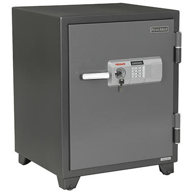 First Alert 2700DF 2 Hour Fire Safe with Digital Lock, 3.10 Cubic Foot, Gray
