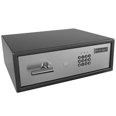 First Alert 2060F Digital Anti-Theft Laptop Safe, 0.78 Cubic Feet, Gray/Silver