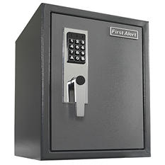 First Alert - 2077DF Anti-Theft Safe with Digital Lock, 1.2 Cubic Foot, Gray