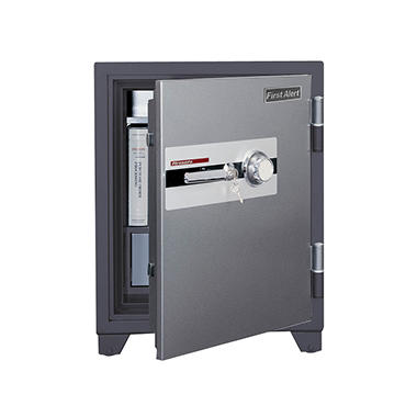First Alert - 2700DF 2 Hour Fire Safe with Digital Lock, 3.10 Cubic Foot, Gray