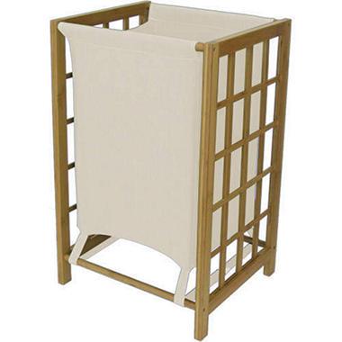 Bamboo Laundry Sorter