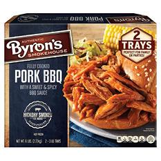 Byron's Hickory Smoked Pork BBQ (3 lb. ea., 2 ct.)