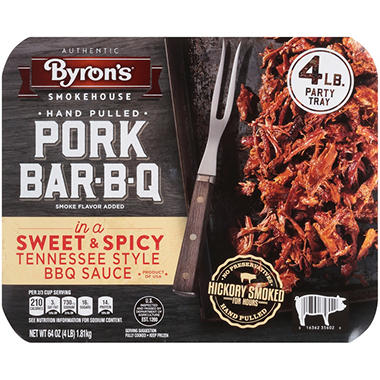 Byron's� Fully Cooked Pork BBQ - 64 oz.